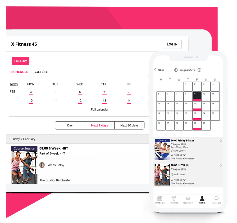 Fitness-appointment-scheduling-software
