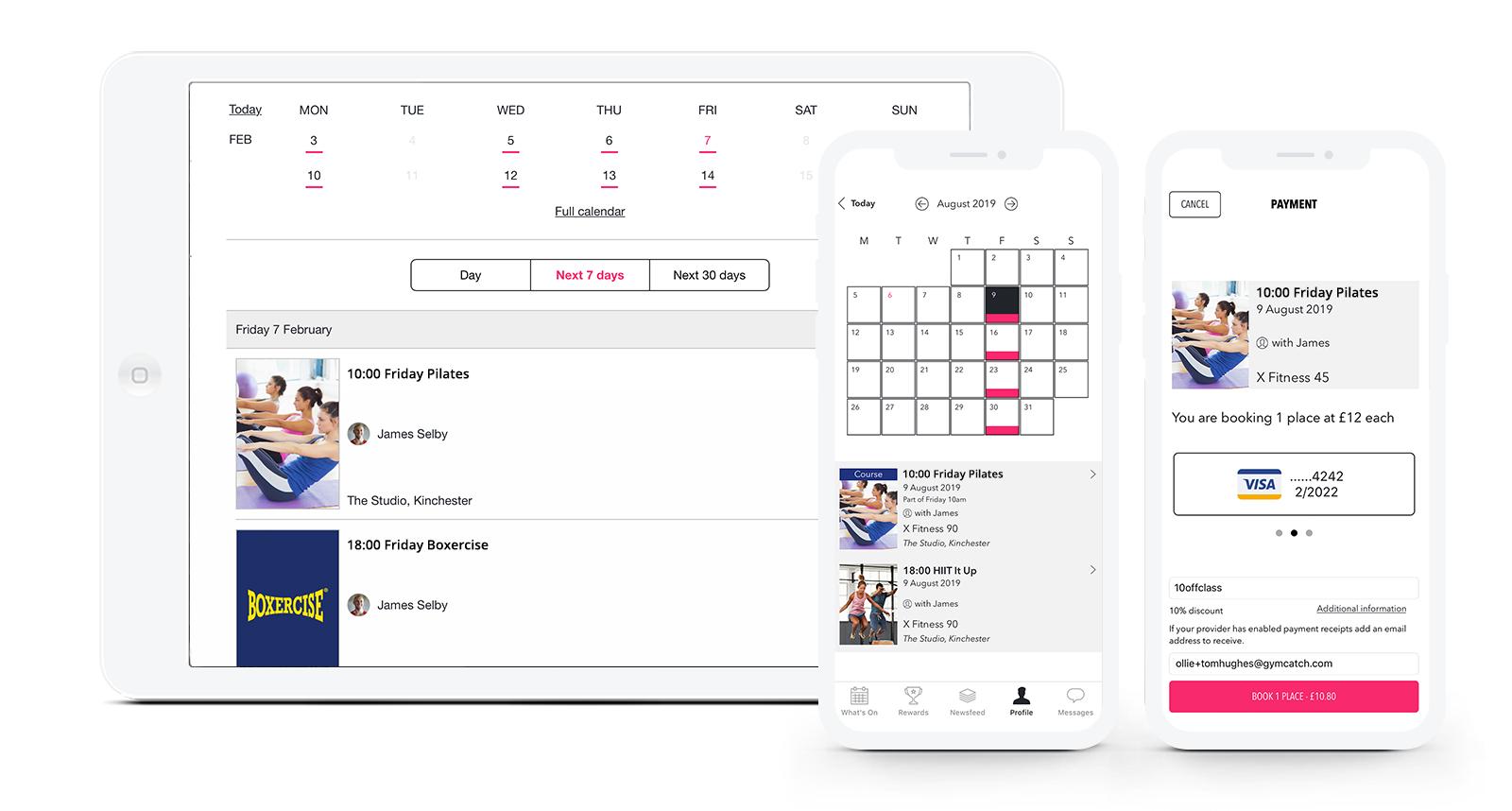 fitness-booking-scheduling